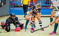 AMSTERDAM  - tijdens het starttoernooi zaalhockey in Sporthallen Zuid.    COPYRIGHT KOEN SUYK