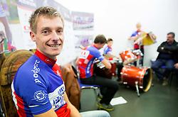 Tomaz Nose, rider of KK Adria Mobil retires as a professional cycling athlete, on November 6, 2014 in Cesca vas, Novo mesto. Foto: Vid Ponikvar / Sportida