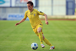 Mihael Novak of Domzale at 32th Round of Slovenian First League football match between NK Domzale and NK Hit Gorica in Sports park Domzale, on May 6, 2009, in Domzale, Slovenia. Gorica won 2:0. (Photo by Vid Ponikvar / Sportida)