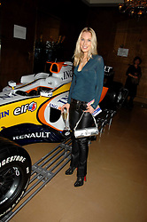 IMOGEN LLOYD WEBBER at a party to celebrate the first year if ING's sponsorship of the Renault Formula 1 team, held at the Mayfair Hotel, Stratton Street, London W1 on 28th November 2007.<br /><br />NON EXCLUSIVE - WORLD RIGHTS