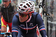 Hugo Hofstetter (French) at the start during the Road Cycling European Championships Glasgow 2018, in Glasgow City Centre and metropolitan areas Great Britain, Day 11, on August 12, 2018 - Photo Laurent Lairys / ProSportsImages / DPPI