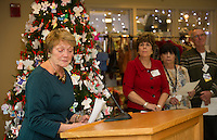 Lakes Region General Hospital Auxiliary Tree of Love.  Karen Bobotas for the Laconia Daily Sun
