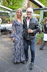 MARISSA MONTGOMERY and her father DAVID MONTGOMERY at a party to celebrate 'A Year In The Garden' celebrating the first year of The Ivy Chelsea Garden, 197 King's Road, London on 16th May 2016.