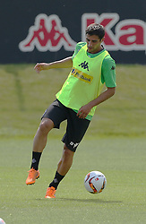 29.06.2015, Trainingsanlage Borussia Moenchengladbach, Moenchengladbach, GER, 1. FBL, Borussia Moenchengladbach, Trainingsauftakt, im Bild Lars Stindl (Moenchengladbach) mit Ball // during a traning session of German 1st Bundeliga Club Borussia Moenchengladbach at the Trainingsanlage Borussia Moenchengladbach in Moenchengladbach, Germany on 2015/06/29. EXPA Pictures &copy; 2015, PhotoCredit: EXPA/ Eibner-Pressefoto/ Hommes<br /> <br /> *****ATTENTION - OUT of GER*****