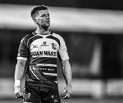 Lloyd Rowlands of Pontypridd<br /> <br /> Photographer Mike Jones/Replay Images<br /> <br /> Principality Premiership - Neath v Pontypridd - Friday 16th March 2018 - The Gnoll Neath<br /> <br /> World Copyright © Replay Images . All rights reserved. info@replayimages.co.uk - http://replayimages.co.uk