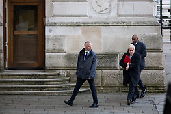 © Licensed to London News Pictures. 06/02/2018. London, UK. Foreign and Commonwealth Secretary Boris Johnson  arriving in Downing Street to attend a Cabinet meeting this morning. Photo credit : Tom Nicholson/LNP