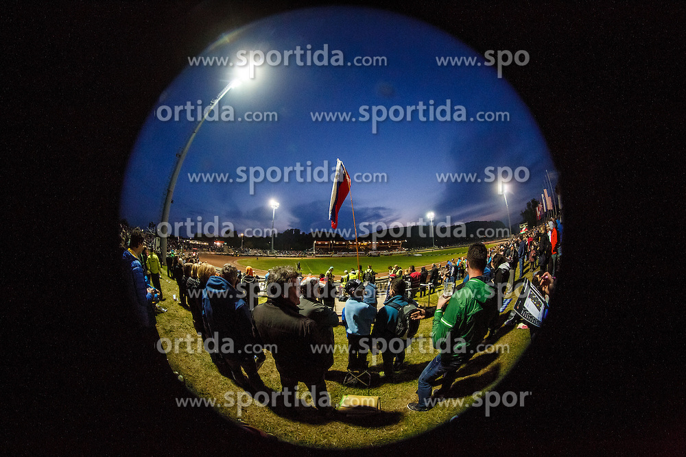 Stadium Matija Gubca during FIM Speedway Grand Prix World Cup, Krsko, on 30. April, 2016, in Sports park Krsko, Slovenia. Photo by Grega Valancic / Sportida