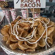 Twist Fries witn cheese Ranch Bacon and other fried foods are a boardwalk specialty, you really haven't lived and anything you can think of that can be shoved on a stick.<br /> <br /> Vanina created these and other specialties can be found at &quot;Vanina's Ice Cream&quot; located at 1539 Boardwalk &amp; Kentucky Avenue in Atlantic City, NJ.