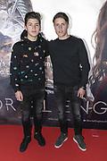 2018, December 04. Pathe ArenA, Amsterdam. Nederlandse premiere van Mortal Engines. Op de foto: Vincent Visser en Ruben Visser