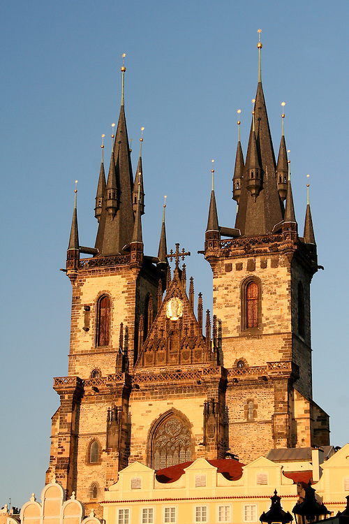 Church of Our Lady Before Týn ( Kostel Matky Boží před Týnem), Prague, Czech Republic