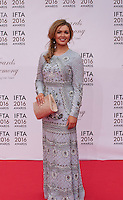 Caitlín Nic Aoidh at the IFTA Film & Drama Awards (The Irish Film & Television Academy) at the Mansion House in Dublin, Ireland, Saturday 9th April 2016. Photographer: Doreen Kennedy