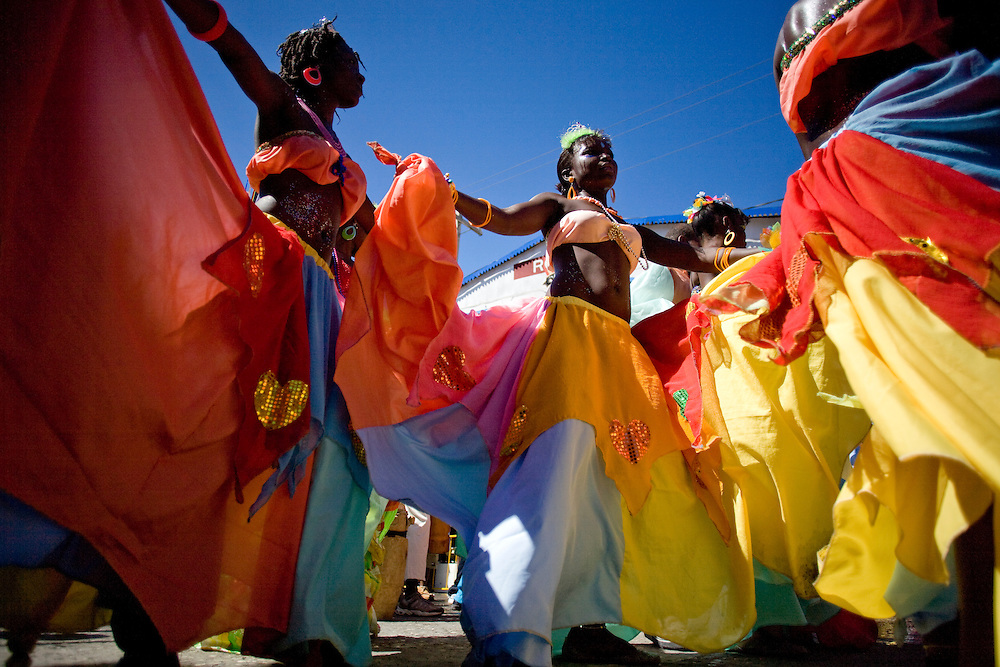Carnival, Jacmel, Haiti. 2/15/2009 Photo by Ben Depp