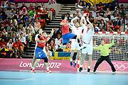 DESCRIZIONE : Handball Jeux Olympiques Londres <br /> GIOCATORE : Entrerrios Raul ESP<br /> SQUADRA : Espagne HOMME<br /> EVENTO :  Handball Jeux Olympiques<br /> GARA : Croatie Espagne<br /> DATA : 06 08 2012<br /> CATEGORIA : handball Jeux Olympiques<br /> SPORT : HANDBALL<br /> AUTORE : JF Molliere <br /> Galleria : France JEUX OLYMPIQUES 2012 Action<br /> Fotonotizia : France Handball Homme Jeux Olympiques Londres premier tour Copper Box<br /> Predefinita :