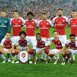 The Arsenal team before Western Sydney Wanderers vs Arsenal, Preseason Friendly , 15.07.17 (c) Harriet Lander | SportPix.org.uk