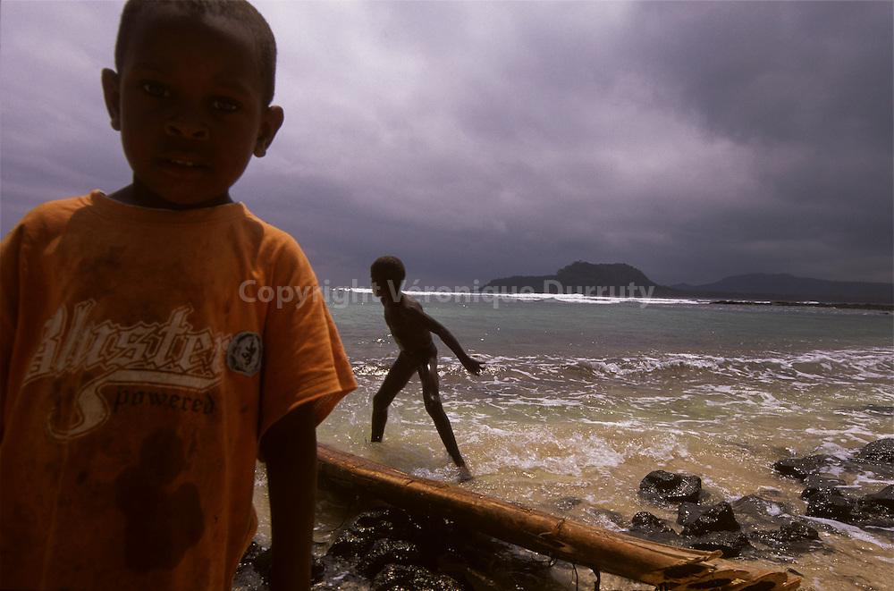Sao Tome Et Principe : Rolas island, Sao Tome
