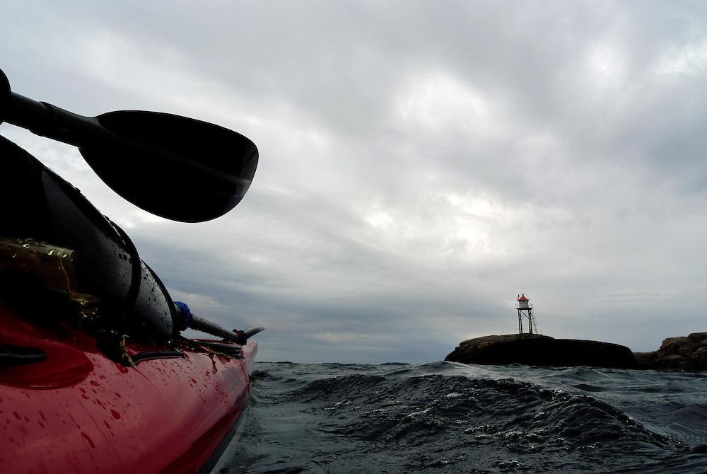 Kayaking - padle