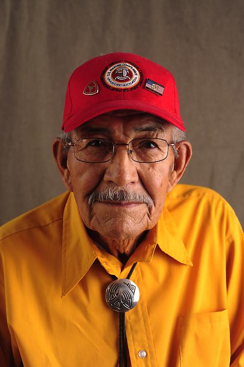 Navajo Code Talker Alfred K. Newman