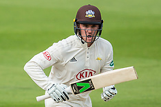 29 Aug 2017 - Surrey v Middlesex.  Day two of the Specsaver County Championship match at the Oval.