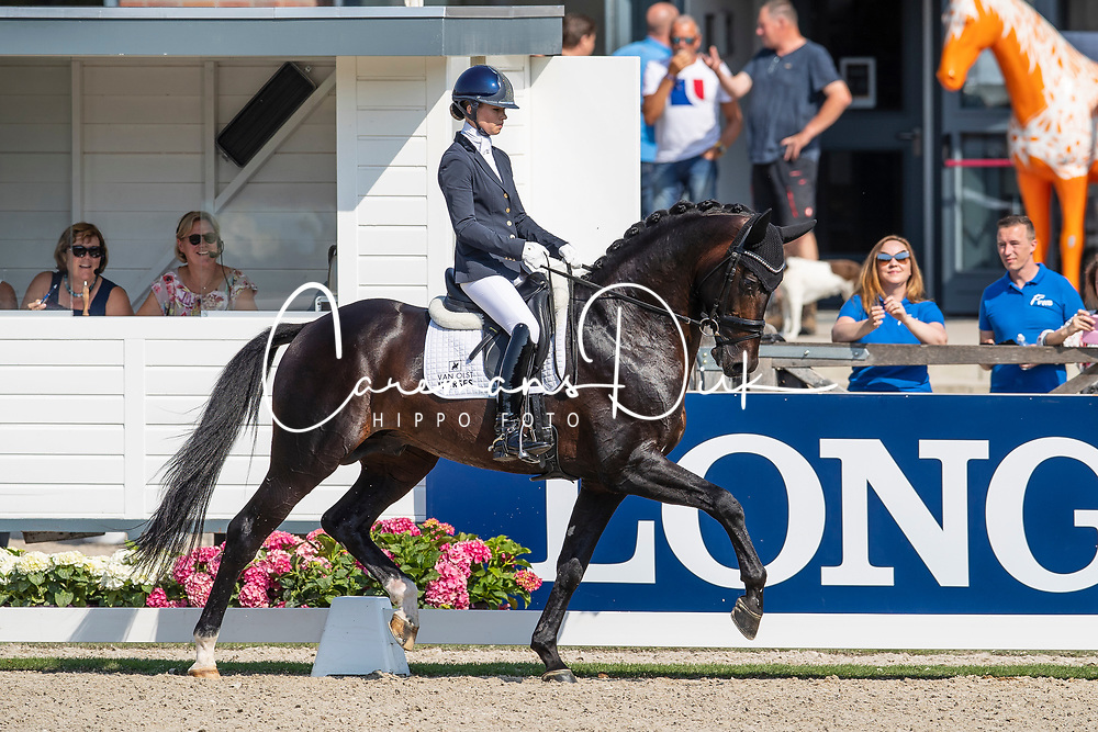 Fry Charlotte, GBR, Inclusive<br /> World ChampionshipsYoung Dressage Horses<br /> Ermelo 2018<br /> © Hippo Foto - Dirk Caremans<br /> 02/08/2018