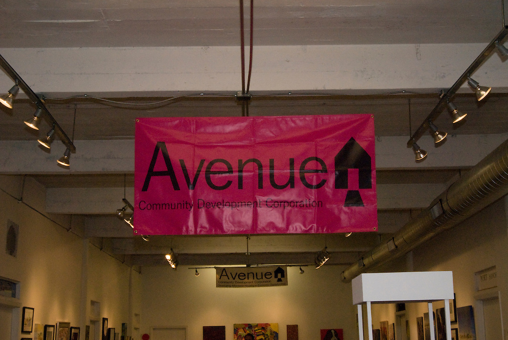 Photograph from the 2012 Art on the Avenue Auction on Saturday, November 10, 2012 at the Winter Street Studios.