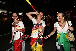 23.06.2010, Leopoldstrasse Schwabing, Muenchen, GER, FIFA Worldcup, Fanfeier nach Ghana vs Deutschland,  im Bild Weibliche Fans , EXPA Pictures © 2010, PhotoCredit: EXPA/ nph/  Straubmeier