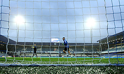 The rain falls at Loftus Road - Mandatory byline: Robbie Stephenson/JMP - 07966386802 - 16/09/2015 - FOOTBALL - Loftus Road - London,England - Queens Park Rangers v Blackburn Rovers - Sky Bet Championship