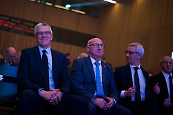 Peter Vilfan, Bogdan Gabrovec, Jernej Pikalo  at 54th Annual Awards of Stanko Bloudek for sports achievements in Slovenia in year 2018 on February 13, 2019 in Brdo Congress Center, Brdo, Ljubljana, Slovenia,  Photo by Peter Podobnik / Sportida