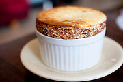 Orange and Lemon souffle with chocolate