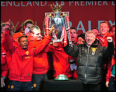 MAY 13 2013 Manchester United Parade