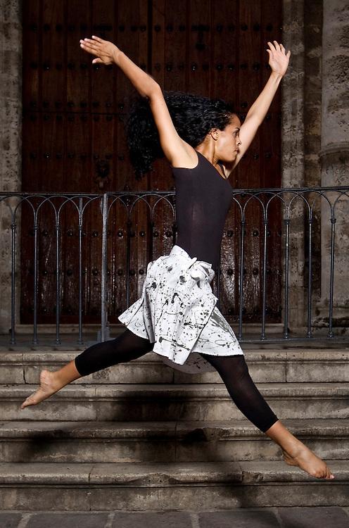 Havana Cuba modern dancers