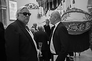 BRIAN CATLING, IAIN SINCLAIR, , RA Annual dinner 2018. Piccadilly, 5 June 2018.