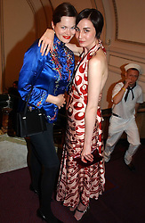 Left to right, JASMINE GUINNESS and ERIN O'CONNOR at the English National Opera's 'On The Town' presented by SKY and Artsworld followed by a Tribute to Leonard Bernstein hosted by Jerry Hall at The London Coliseum, St.Martin's Lane, London WC2 on 11th May 2005.