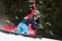 Crt Ikovic (SLO) competes during Qualification Run of Men's Parallel Giant Slalom at FIS Snowboard World Cup Rogla 2016, on January 23, 2016 in Course Jasa, Rogla, Slovenia. Photo by Ziga Zupan / Sportida