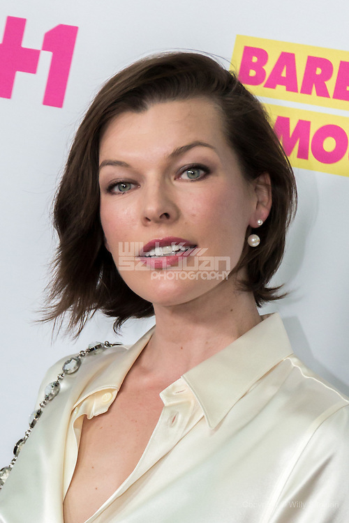 "Mlila Jovovich arrives at the LA Premiere Season Two ""Barely Famous"" event in West Hollywood on Tuesday, June 14, 2016, in Los Angeles. (Photo by Willy Sanjuan/Invision/AP)"