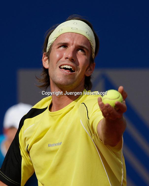 BMW Open 2009, Muenchen, Sport, Tennis,  International Series ATP  Tournament, Gero Kretschmer (GER)..Foto: Juergen Hasenkopf