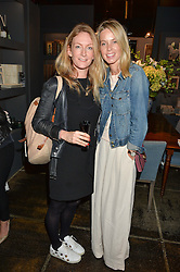 Left to right, SUSANNAH TAYLOR and FI McALPINE at a party to celebrate the publication of Flourish by Willow Crossley held at OKA, 155-167 Fulham Rd, London on 4th October 2016.