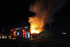 Tauranga-Fire at refuse transfer station, Mt Maunganui