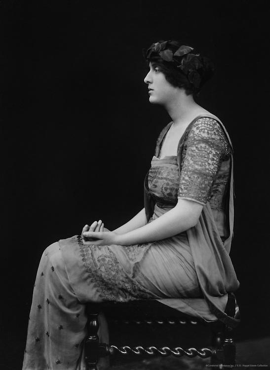 Vita Sackville-West, author (Mrs. H. Nicholson), England, UK, 1916