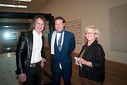 IVOR BRAKA; DANNY MOYNIHAN; LORNA DUNPHY, Damien Hirst, Tate Modern: dinner. 2 April 2012.