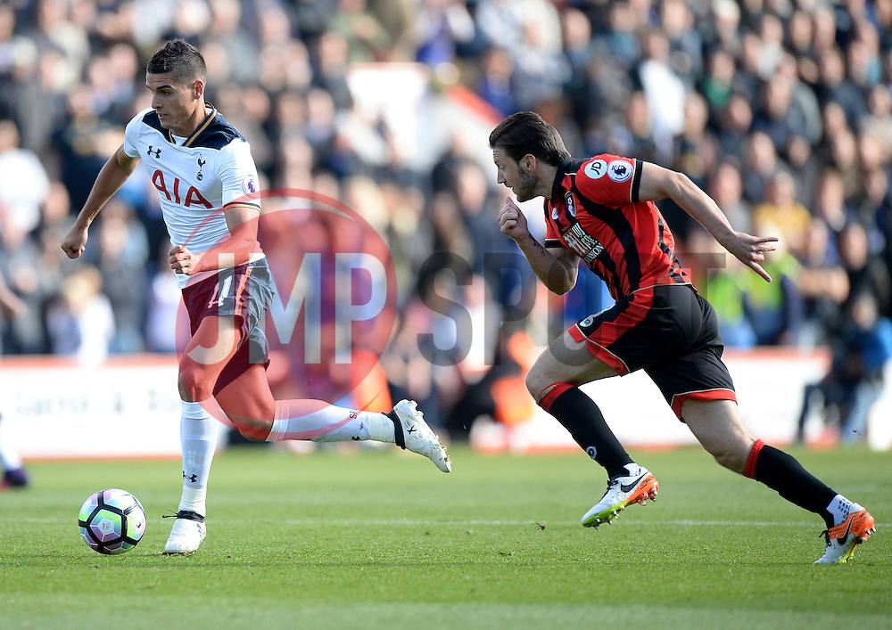 Erik Lamela of Tottenham Hotspur - Mandatory by-line: Alex James/JMP - 22/10/2016 - FOOTBALL - Vitality Stadium - Bournemouth, England - AFC Bournemouth v Tottenham Hotspur - Premier League