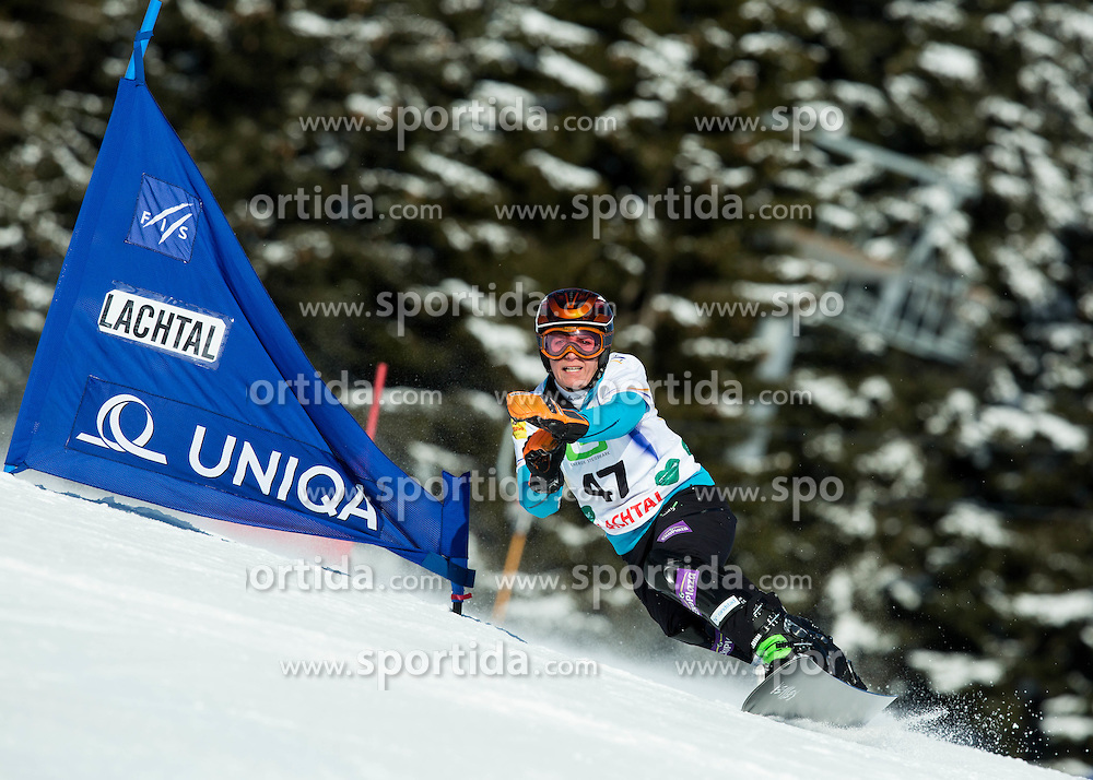 Nicolien Sauerbreij of Netherlands competes during Elimination of the Ladies' Parallel Giant Slalom at FIS World Championships of Snowboard and Freestyle 2015, on January 23, 2015 at the WM Piste in Lachtal, Austria. Photo by Vid Ponikvar / Sportida