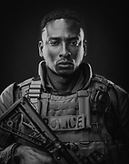 Frederick Harper, Atlanta Police Department Special Weapons and Tactics team member.  Frederick is a husband, father of three children, and an aspiring actor.