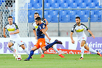 10 Ryad BOUDEBOUZ (mon) - BUT - 03 Yoann ANDREU (ang) - 19 Baptiste SANTAMARIA (ang)<br /> <br /> SOCCER : Montpellier vs Angers - League 1 - 08/13/2016<br /> <br /> Norway only