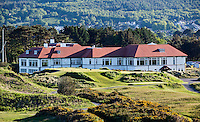 NEWCASTLE NORTHERN IRELAND-  Clubhuis    , ROYAL COUNTY DOWN GC, nr. 3 van de wereldranglijst. .  COPYRIGHT KOEN SUYK
