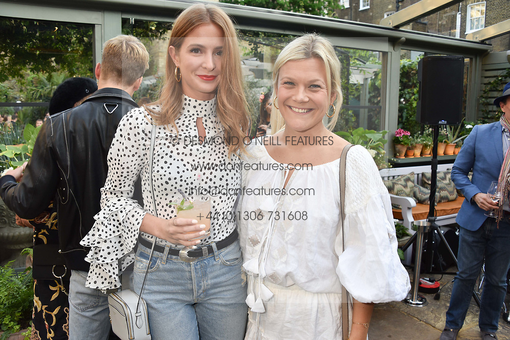 Millie Mackintosh and Olivia Perry at The Ivy Chelsea Garden's Annual Summer Garden Party, The Ivy Chelsea Garden, 197 King's Road, London England. 9 May 2017.<br /> Photo by Dominic O'Neill/SilverHub 0203 174 1069 sales@silverhubmedia.com