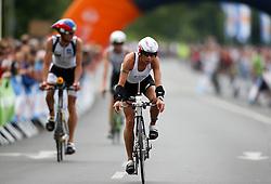 03.07.2011, Ironman Austria, Klagenfurt, Kaernten, im Bild Nicole Woysch, GER, EXPA Pictures © 2011, PhotoCredit: EXPA/ M. Kuhnke
