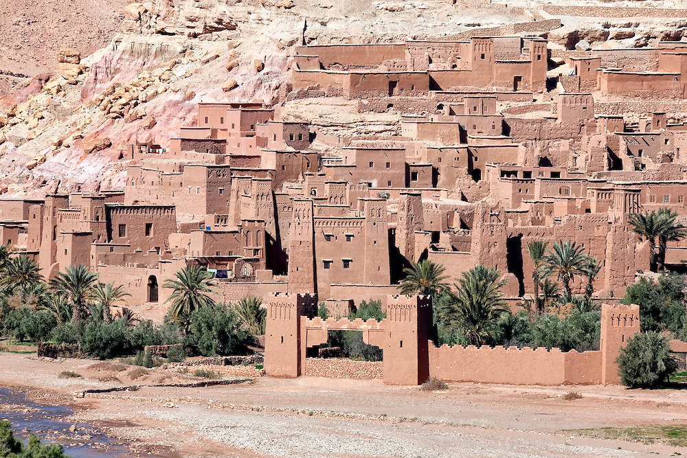 UNESCO World Heritage site ksar and kasbah Ait Ben Haddou.