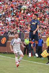 July 28, 2018 - Ann Arbor, MI, U.S. - ANN ARBOR, MI - JULY 28: the ICC soccer match between Manchester United FC and Liverpool FC on July 28, 2018 at Michigan Stadium in Ann Arbor, MI. (Photo by Allan Dranberg/Icon Sportswire) (Credit Image: © Allan Dranberg/Icon SMI via ZUMA Press)