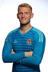 CARDIFF, WALES - Tuesday, September 4, 2018: Wales' Goalkeeper Adam Davies. (Pic by David Rawcliffe/Propaganda)