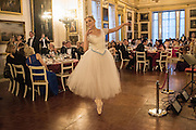 BALLERINA: MARIA SASCHA KHAN, The 20th Russian Summer Ball, Lancaster House, Proceeds from the event will benefit The Romanov Fund for RussiaLondon. 20 June 2015